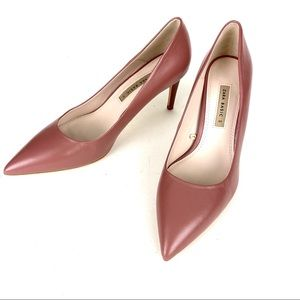 Zara Heels Pumps Size 9 Pink Dusty Rose